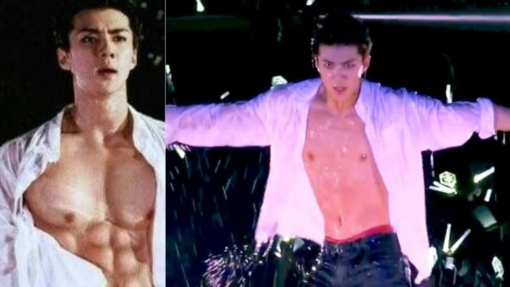 [EXO NEWS] SEHUN Apologizes To EXO-L After He Didn't Show His ABS | Netizens Enraged - YouTube