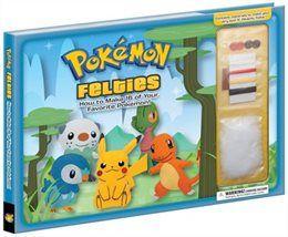 Book Pokemon Felties: How to Make 16 of Your Favorite Pokemon by Pikachu Press