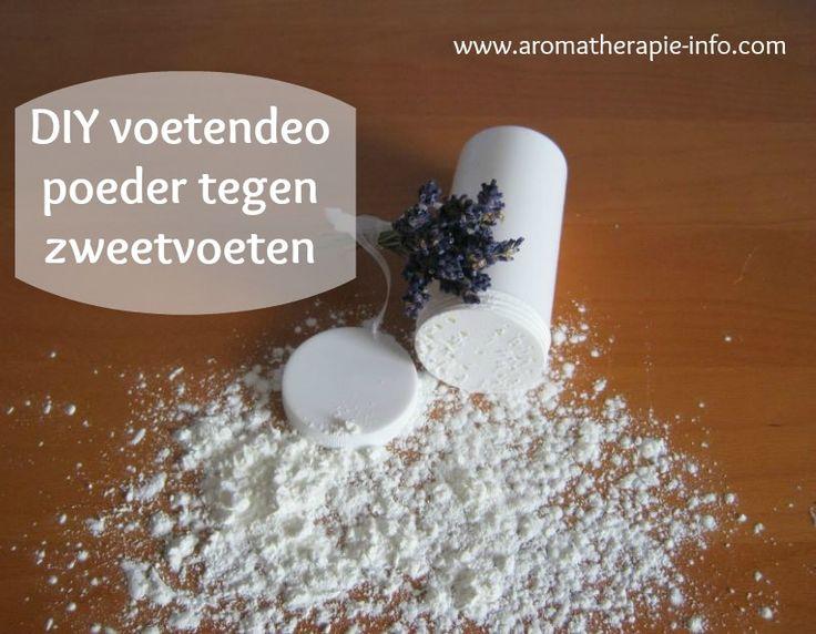Dit snelle DIY voetpoeder tegen zweetvoeten is snel te maken en zeer effectief.