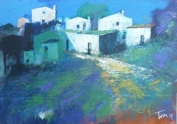 Mattino 70x50 cm Luigi Torre painter