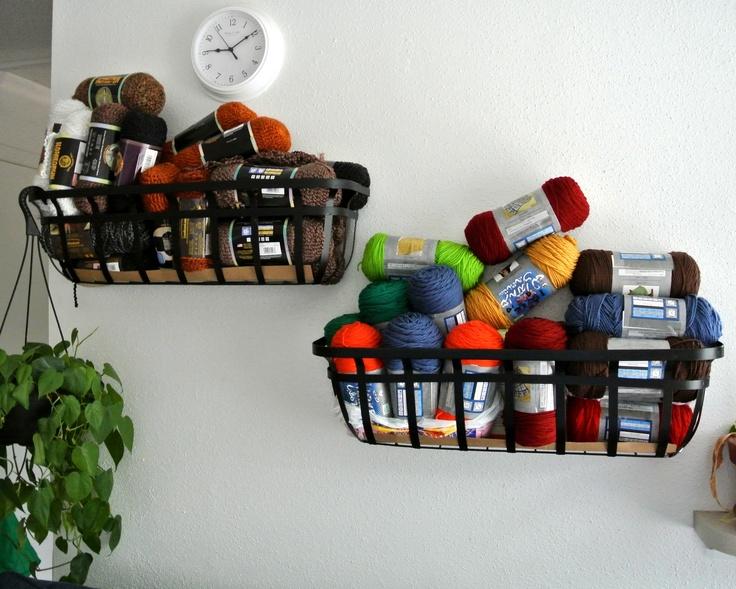 Organizing Yarn · Knitting StorageOrganized ...