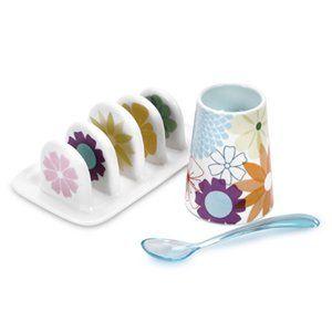 Portmeirion Crazy Daisy - Breakfast Set: Amazon.co.uk: Kitchen & Home