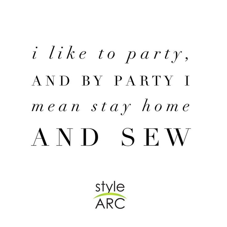 "526 Likes, 16 Comments - Style Arc (@stylearc) on Instagram: ""Happy Friday! If you're planning on partying, or ahem, sewing tonight, make sure you visit Style…"""