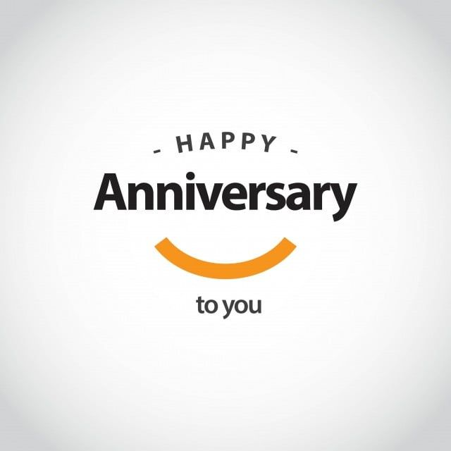 Happy Anniversary Vector Template Design Illustration Happy Icons Template Icons Anniversary Png And Vector With Transparent Background For Free Download Happy Anniversary Template Design Happy Birthday Font