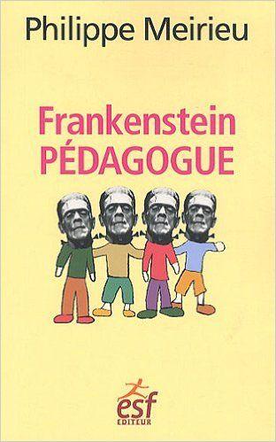 Notre histoire semble hantée par le mythe de la fabrication d'un homme par un autre homme. Pygmalion, Frankenstein et Pinocchio sont des exemples de cette rêverie sur l'éducation qui se poursuit aujourd'hui à travers les récits et les films de science fiction... C'est à partir de l'histoire de Frankenstein et de sa créature que Philippe Meirieu interroge cette représentation de l'éducation comme projet de toute maîtrise de l'autre, de contrôle total de son destin.
