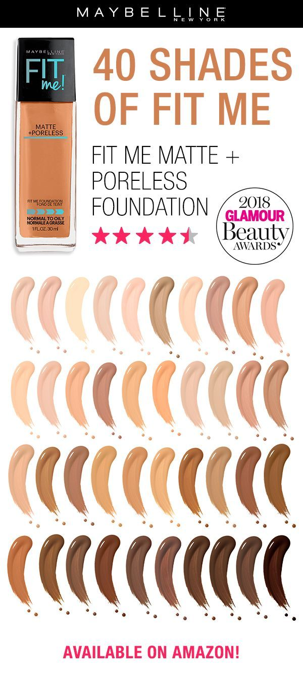 Have You Tried Maybelline S Fit Me Matte Poreless Foundation This Fan Favorite And Award Winnin Fit Me Matte And Poreless Maybelline Makeup Makeup Skin Care