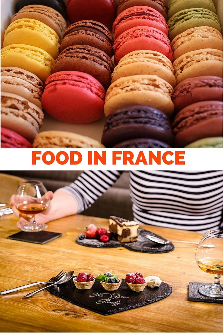 Food,wine and delicacies from France!An insight into the different regions.