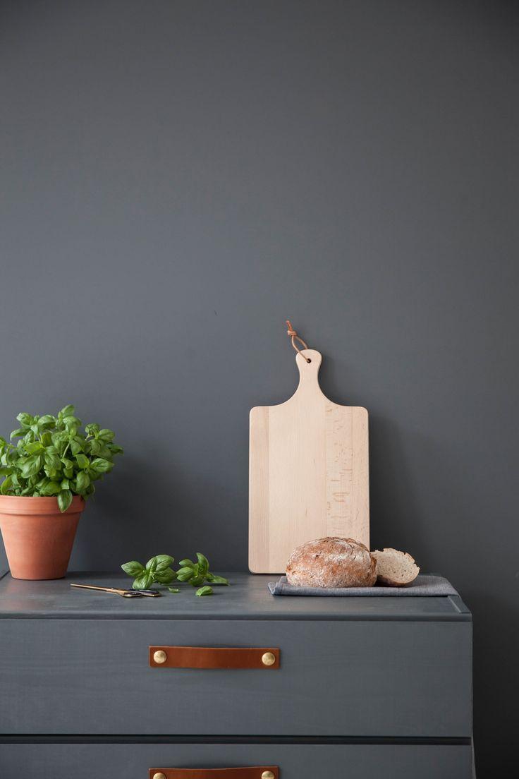 Design Studio Nu - leather handle - grip - size 4 - cognac