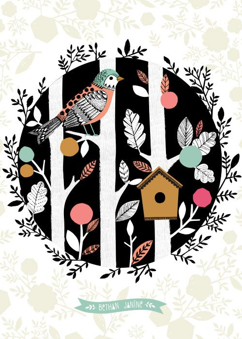 bird house by bethan janine