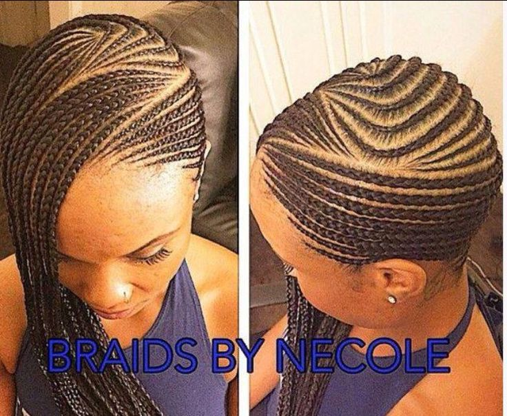 Black Hairstyles With Side Braids: Ideas,styles,tips,goals For Black Hair
