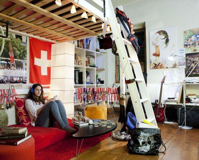 "Julie, 19 –€"" Vevey, Switzerand. (Photo by Gabriele Galimberti/Riverboom Ltd)"