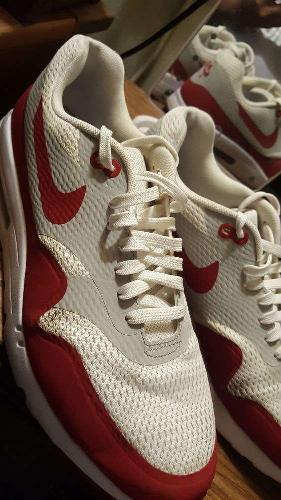 cheap for discount 986da 3791c Nike Air Max Size 13 Red White (Pre-owned)  fashion  clothing  shoes   accessories  mensshoes  athleticshoes (ebay link)