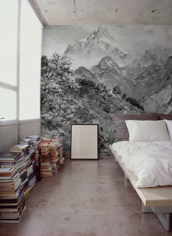 Alps Landscape Wall Mural Removable Wallpaper Wall Covering