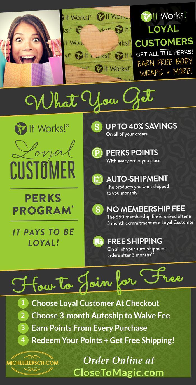Loyal Customer Program How It Works #loyal #Free #Discounts