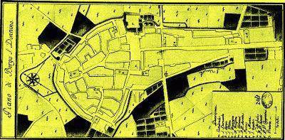 Fidenza: Mappa interattiva di Borgo San Donnino (Fidenza)