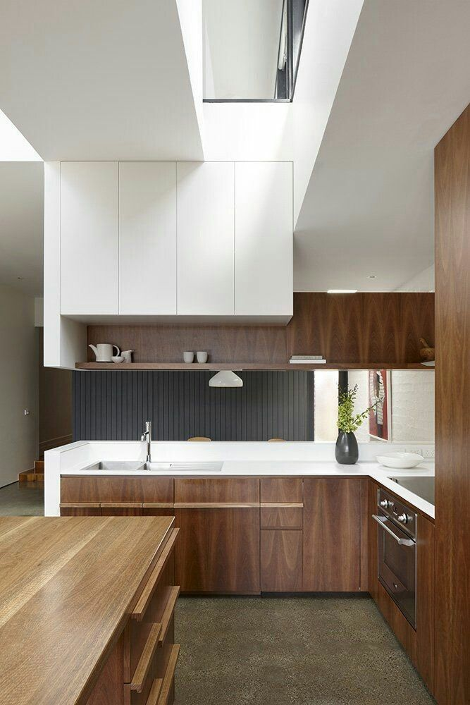 A modern touch of #design within your own kitchen while preparing a feast for the #family