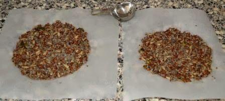 De keuken van Martine: Koolhydraatarme crackers