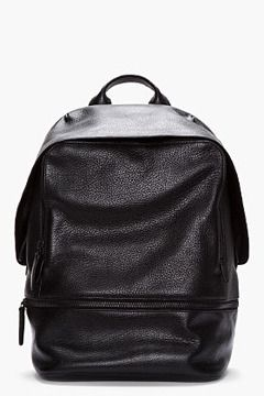 3.1 PHILLIP LIM Black Leather 31 Hour Backpack on shopstyle.com