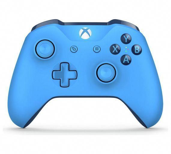Buy Xbox One Wireless Controller Blue At Argos Co Uk Your Online Shop For Xbox One Controller Xbox Wireless Controller Xbox One Controller Xbox Accessories