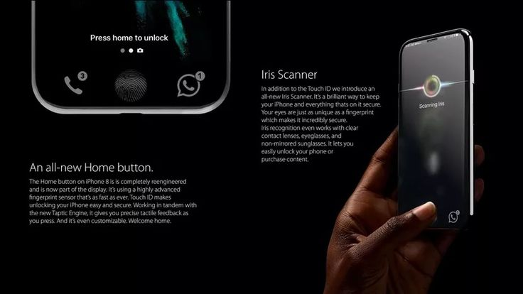 Get Ready For Apples Supersized New Apple IPhone 8 Along With Features IRIS Scanner Price List Camera Quality And More Things
