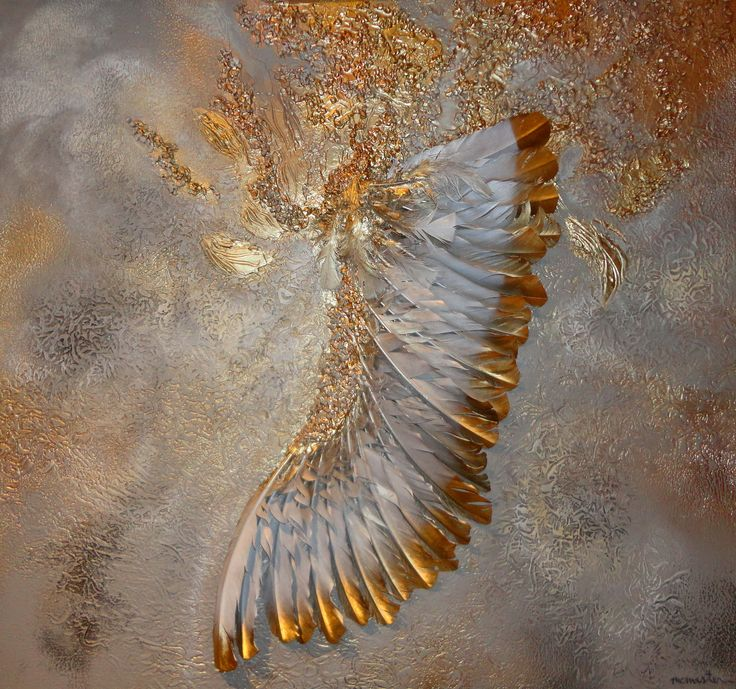 """Dream Angel""  34"" x 36""  (mixed media)"