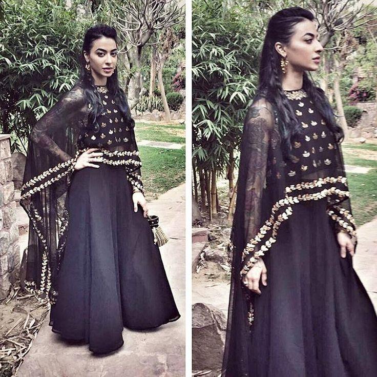 """Bani J in an Esha Koul outfit for a wedding in Delhi. @BOLLYWOODSTYLEFILE  . Outfit ~ @eshakoul Styling ~ @devs213 . #bollywoodstylefile #BaniJ #vjbani…"""