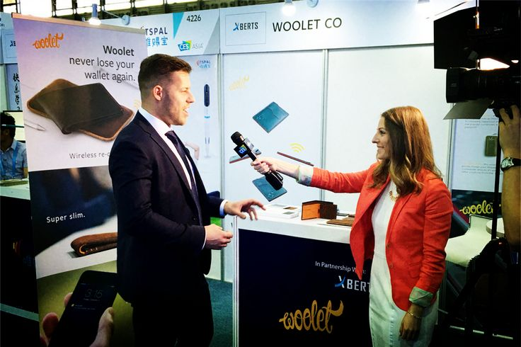 Woolet – Smart, hand-crafted slim wallet that alerts you when you're out of range. Here is their interview (Video) at CES Asia 2016.