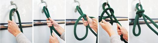 Tying a Quick-Release Knot