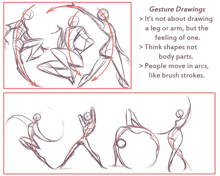 "lunaartgallery: "" Art Tutorial Preview This one was a short weekly tutorial briefly talking about gesture drawing, shapes and how to reference. Next week I'll do a reference sheet with dynamic poses,..."
