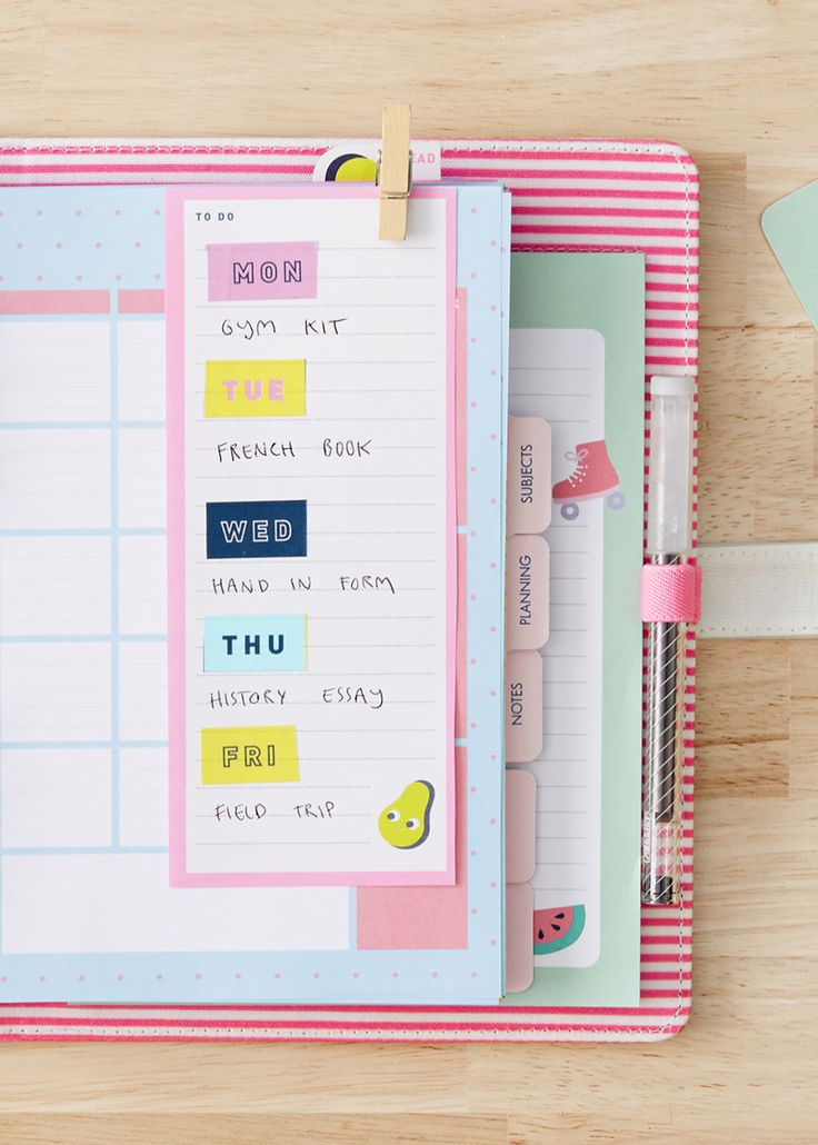 Study Tips | School Organisation | kikki.K Study Planner