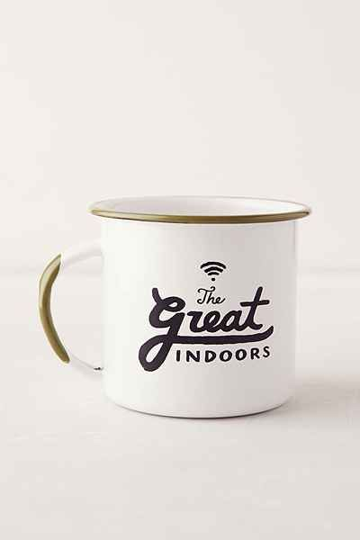 """The Great Indoors"" mug #kitchen #mug"