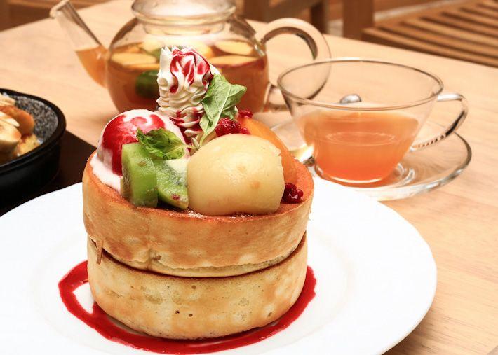 soufflé pancake at Hoshino