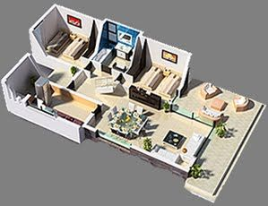 25 best ideas about planos 3d on pinterest planos casa for Planos 3d gratis