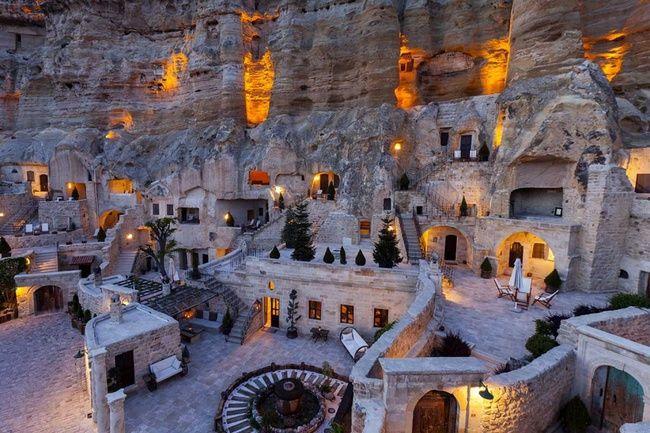 Hotel Yunak Evleri (Capadocia, Turquía)