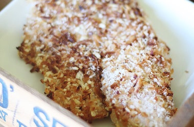 Crispy Baked Coconut Crusted Tilapia | Recipe Addiction-Call 911 | Pi ...