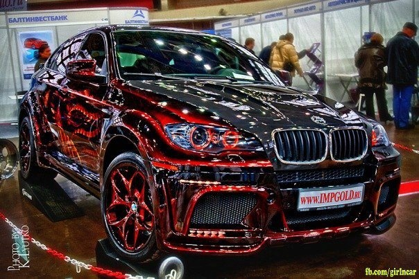 Bmw Red Paint