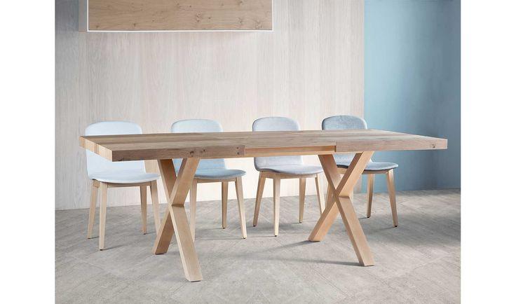 Mesa comedor extensible , madera de haya maciza. ... Eur:998 / $1327.34
