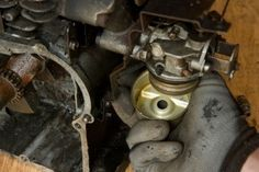 A small engine carburetor is one of the most important small engine parts. It mixes fuel and air together.