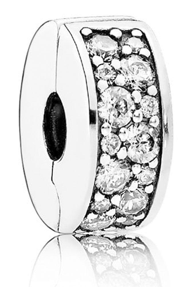 Abalorio Clip Pandora Plata y circonitas 791817CZ