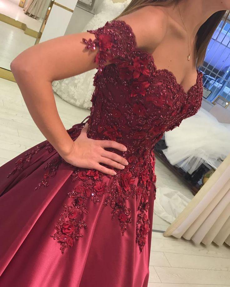 burgundy evening gowns,burguny prom dress,brautkleider,burgundy wedding dress