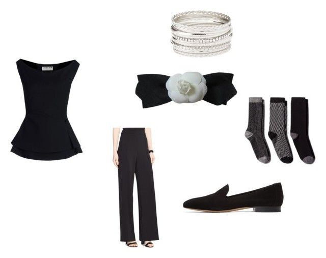 """SET 10"" by fultonhoward ❤ liked on Polyvore featuring La Petite Robe di Chiara Boni, Ralph Lauren, Charlotte Russe, Chanel, Merona and Mansur Gavriel"