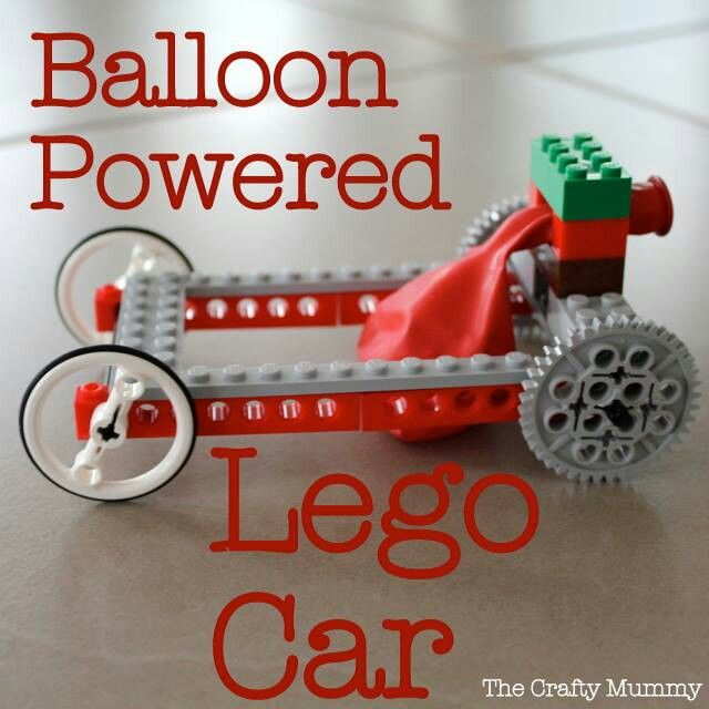 Saweet!!! Balloon powered lego car! Have to do this with Atticus! http://thecraftymummy.com/2013/03/balloon-powered-lego-car/