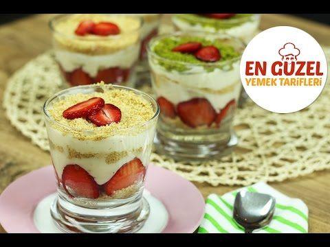 Magnolia Tatlısı Tarifi, Manolya Tatlısı - En Güzel Yemek Tarifleri - YouTube