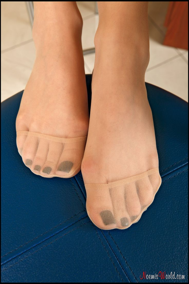 And see my toenails pantyhose good balls bounce