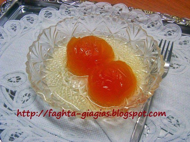 Βερύκοκο γλυκό του κουταλιού - Τα φαγητά της γιαγιάς