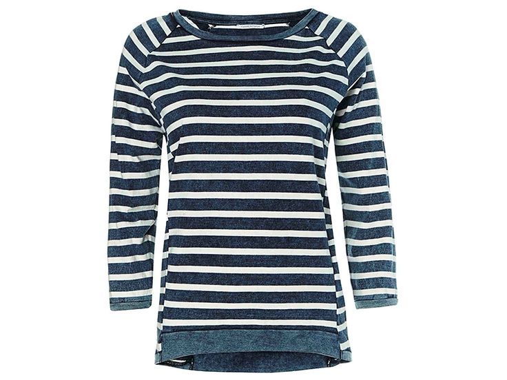 FASHION SALE - Zachte katoenen jumper met blauw / witte strepen van Tramontana. #tramontana #weidesignandmore #mode #design #fashion #basic #jumper #stripes #white #blue #styling #style #outfitoftheday #fashionblogger #conceptstore #weidesign #weidesignandmore #hipshops #hipshopshaarlem #haarlem #online #webshop