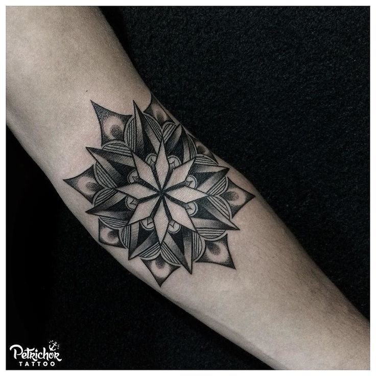 Mandala as the starter of an elbow piece. . . #mandalatattoo #blacktattooart #btattooing #blacktattooing #linework #lineworktattoo #inkstinctsubmission #blackworktattoo #taot #blackworkerssubmission #tattoolife #blacktattoo #lineworks #blackworks #dotworks #occultart #blacktattoomag #inkedblaq  #tattoojogja #jogjatattoostudio #INDONESIA #blacktattooartist