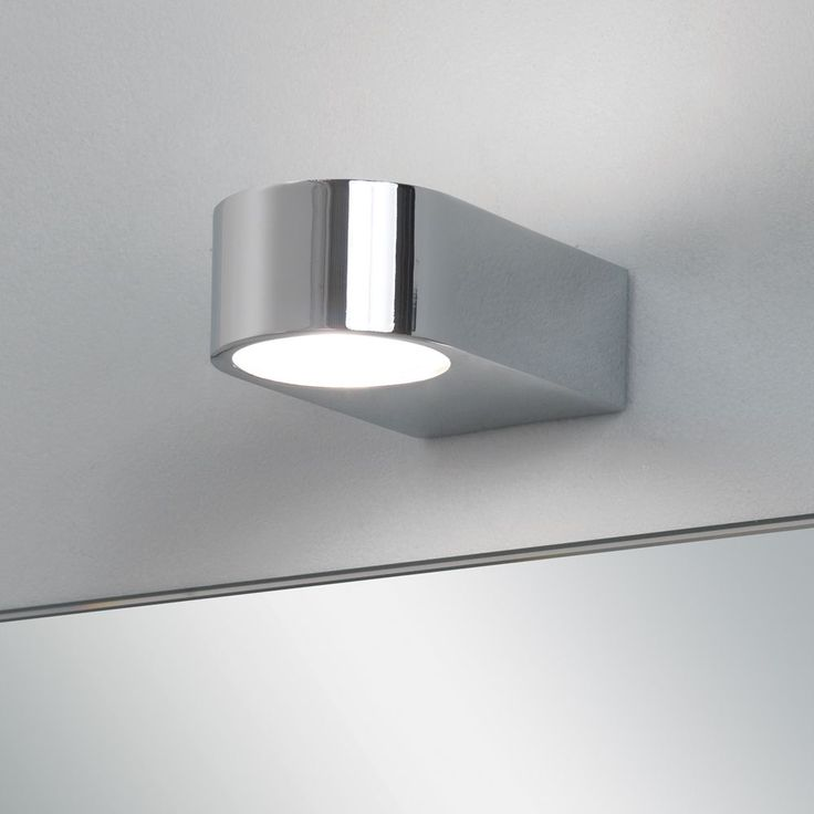 Astro Epsilon Ip44 Bathroom Wall Light In Polished Chrome