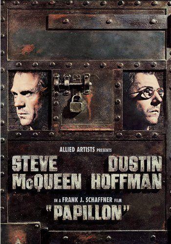 Henri Charrière (1906 - 1973) escribió esta novela autobiográfica en 1969. En ella, el protagonista, que se apoda Papillon, es condenado a trabajos forzados en la isla del Diablo en la Guayana francesa por un crimen que no cometió. La trama gira en torno a los intentos de fugarse que realiza Papillon y su definitiva fuga en 1941. En 1973, Franklin J. Schaffner, dirigió una película basada en el libro, con Steve McQueen como protagonista y Dustin Hoffman como actor secundario.
