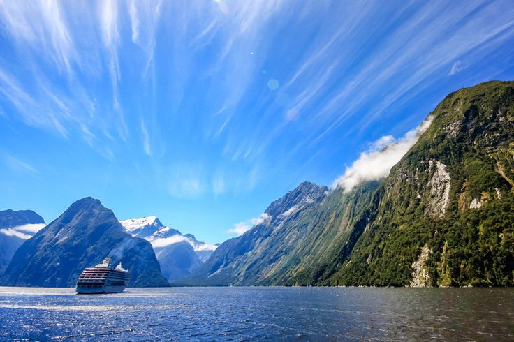 The South Island's famous Milford Sound is a must see attraction when in New Zealand
